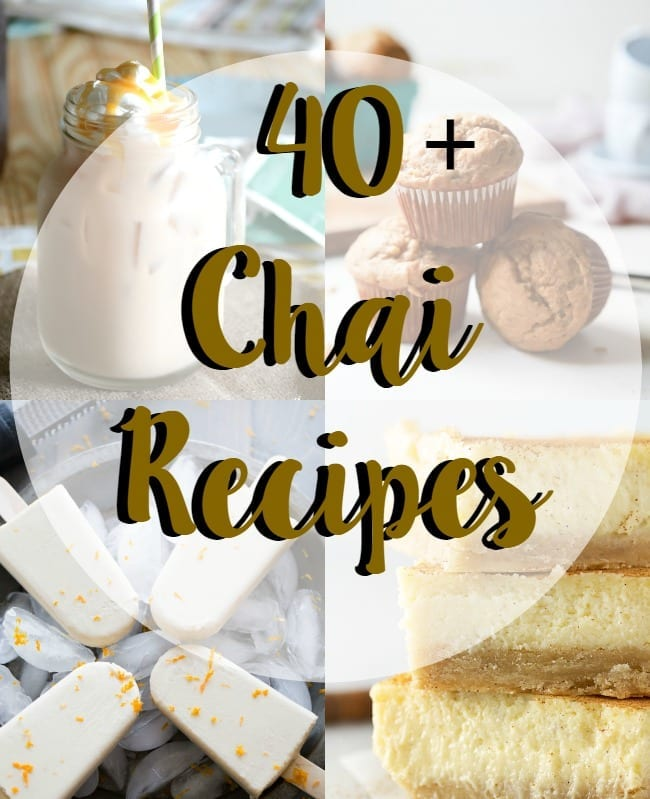 40+ chai recipes