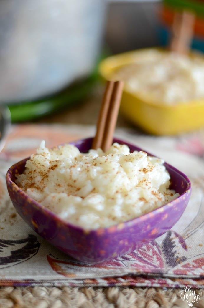 Easy arroz con leche recipe