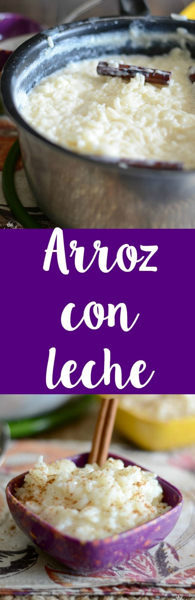 Homemade arroz con leche recipe! This recipe is super easy to make and everyone will love it!