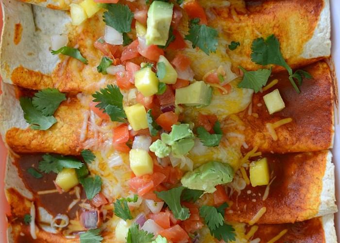 Weeknight enchiladas