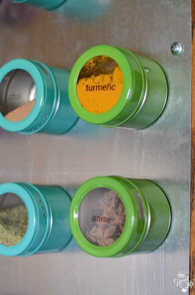 How to easily organize your spices