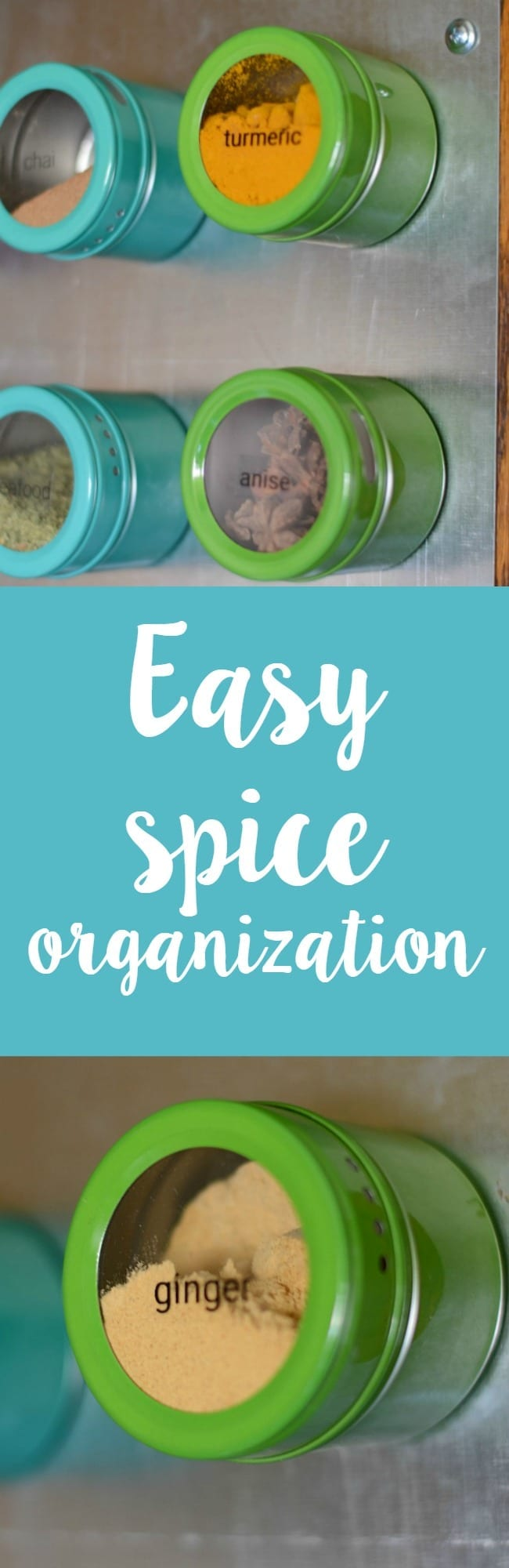 How to easily organize your spices!