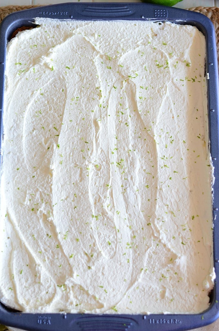 Delicious key lime slab pie recipe