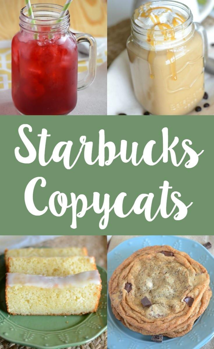 21+ Starbucks copycat recipes