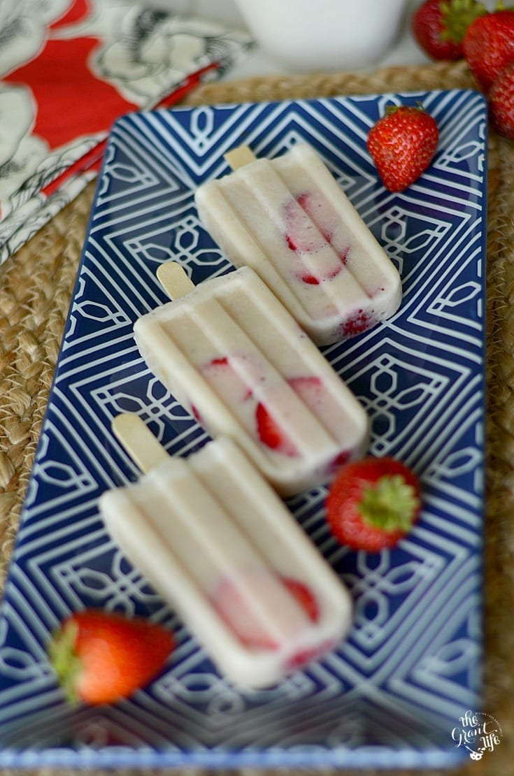 Easy breakfast popsicles