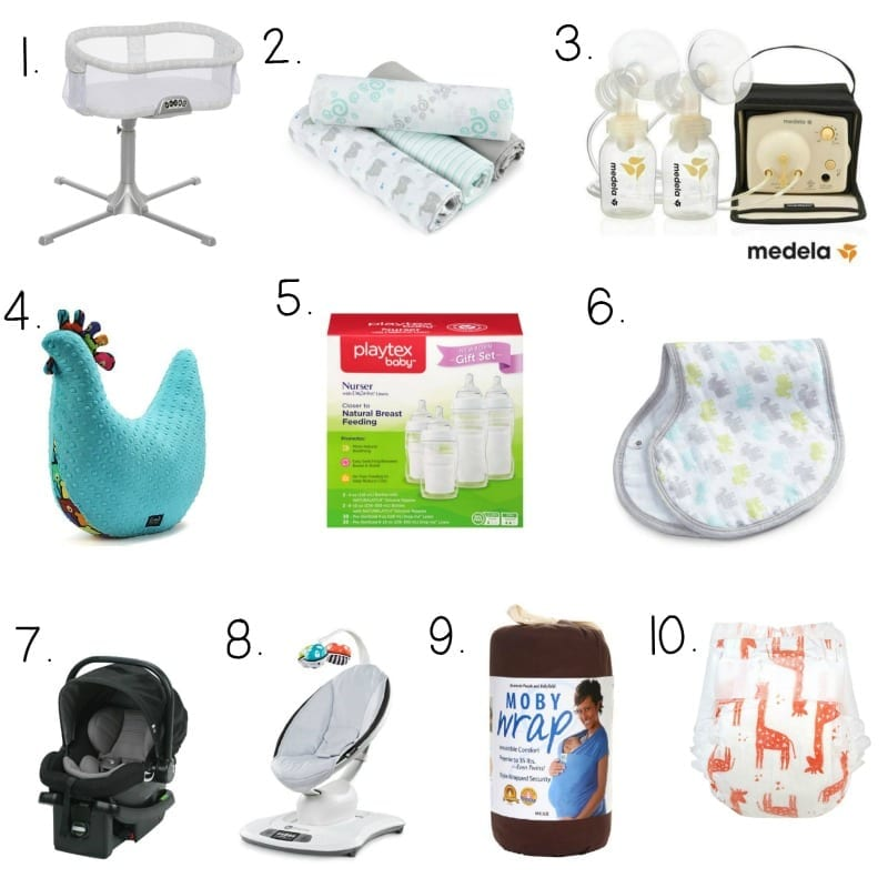 New mom must haves