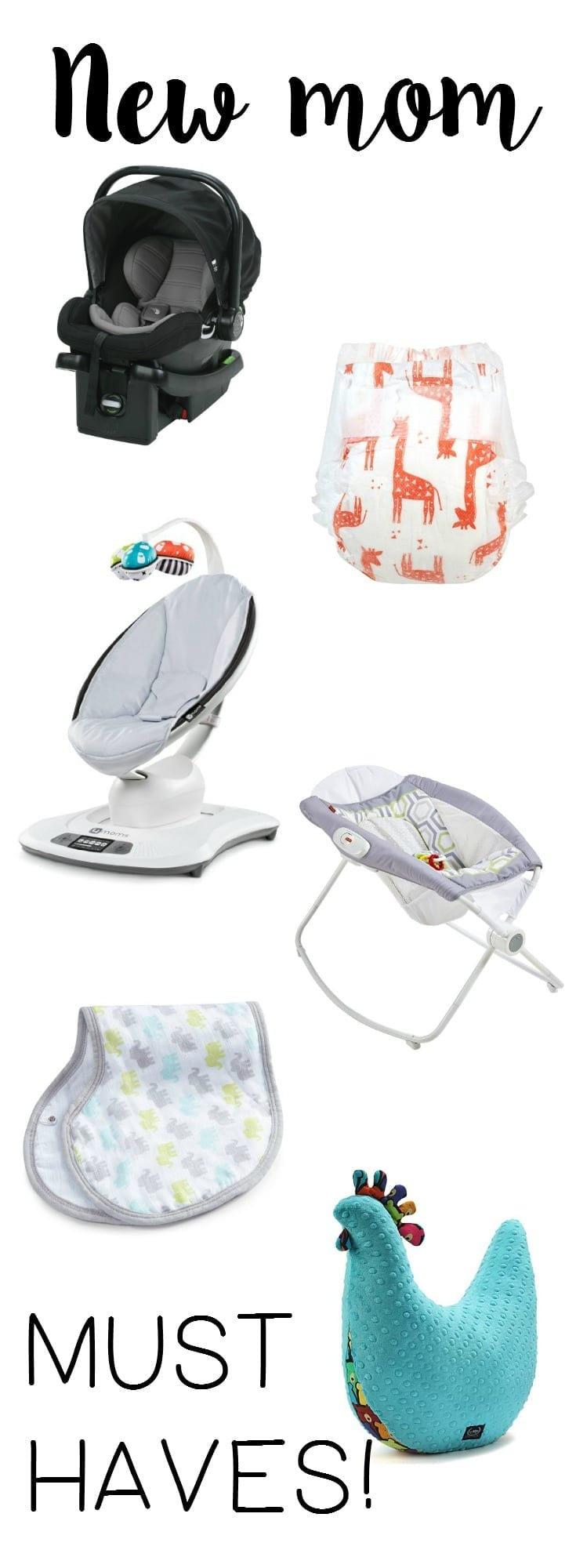 What does a new mom need Here is a list of 10 must have items to stock up on before you get to the hospital!