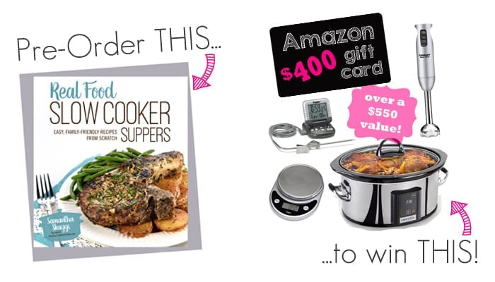 Real Food Slow Cooker – Giveaway
