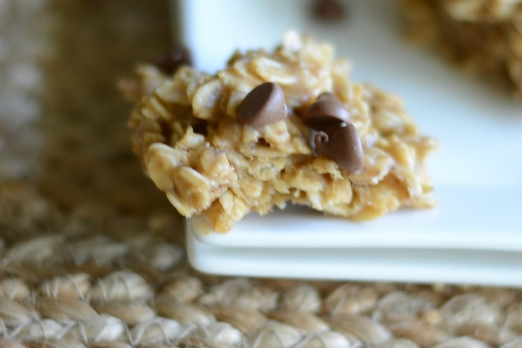 Peanut butter and chocolate no bake cookies