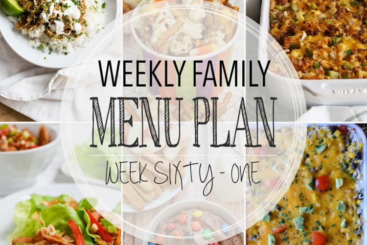 Weekly family menu plan 61