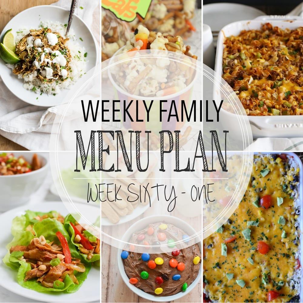 Weekly family menu plan 61