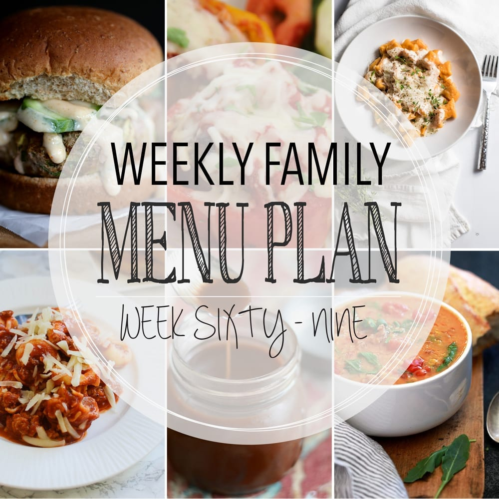 Weekly family menu plan 69