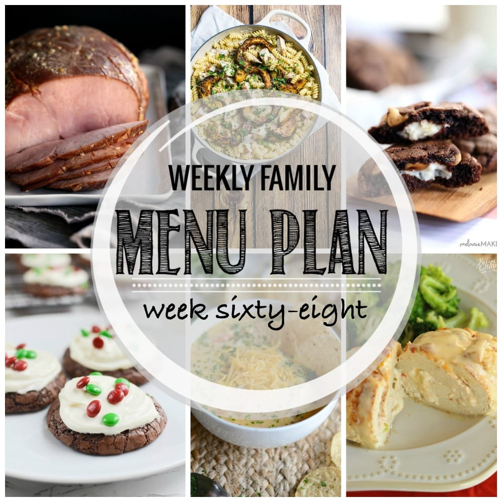 Weekly family menu plan 68