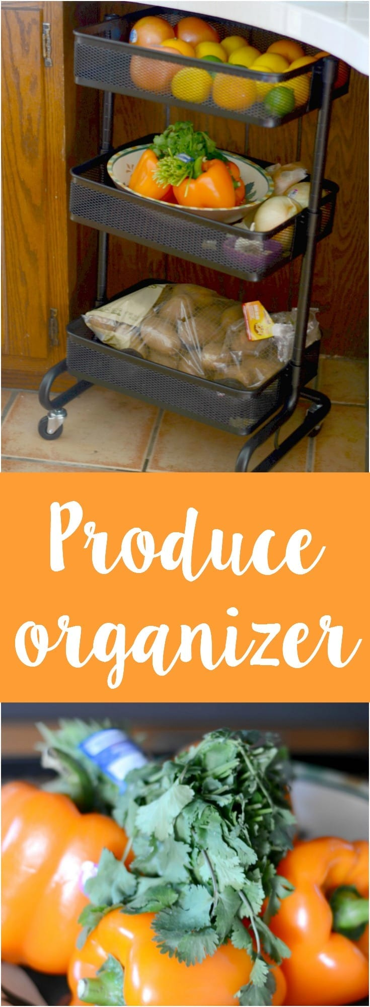 Fruit and vegetable organizer plus other greats ideas!