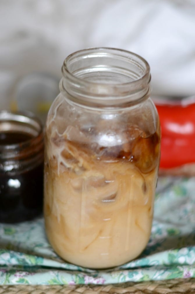 Spiced cold brew coffee