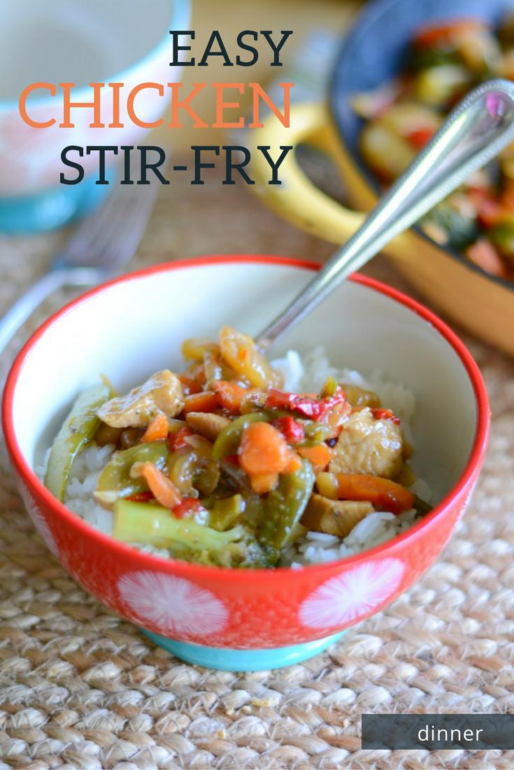 Easy chicken stir-fry dinner - the Grant life