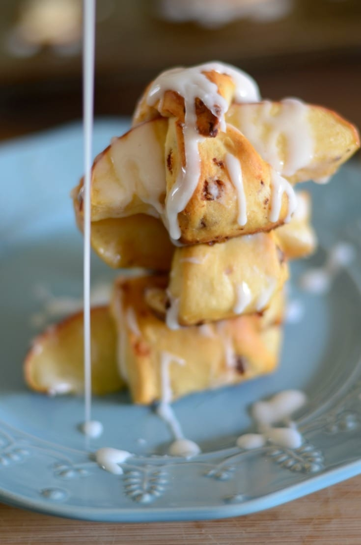 Cinnamon apple bites recipe