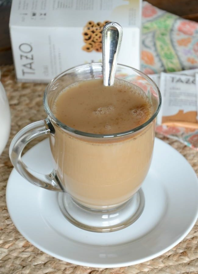 How to make a chai tea latte