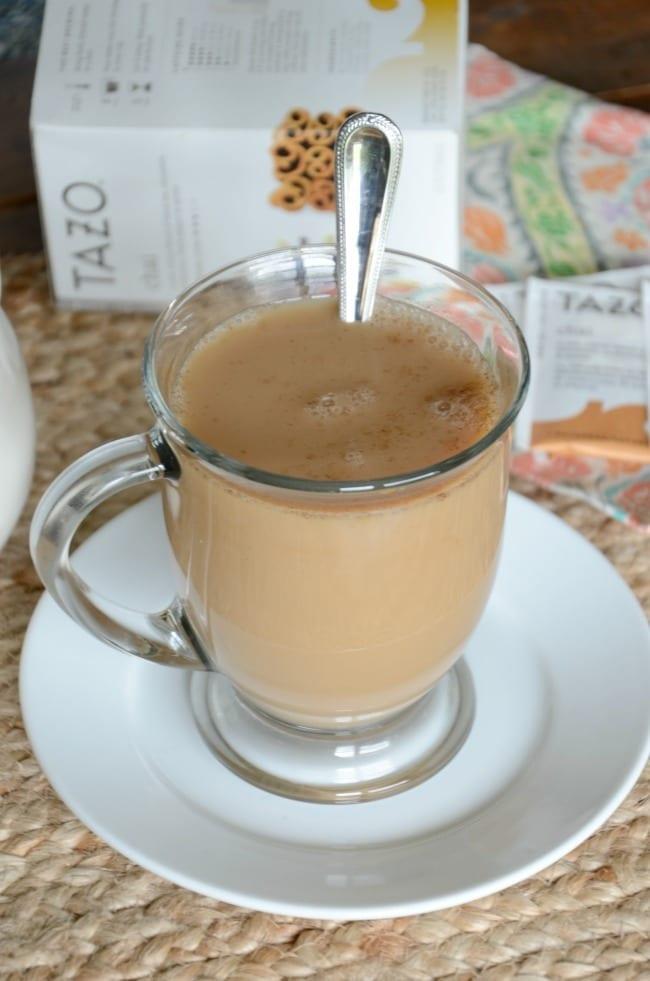 How to make a chai tea latte at home