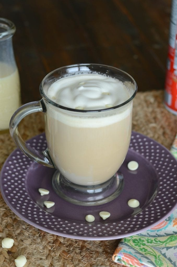 Starbucks copycat white chocolate mocha
