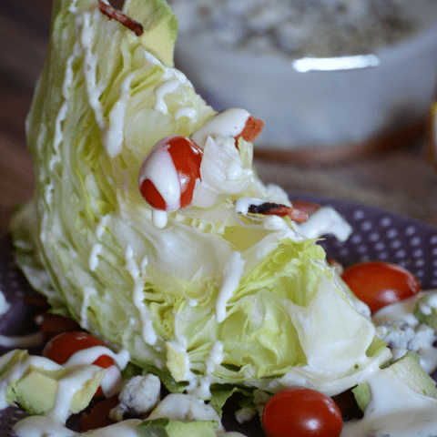 Avocado Wedge Salad
