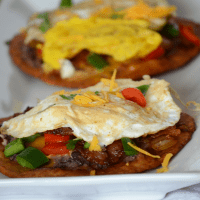 Loaded Breakfast Tostadas