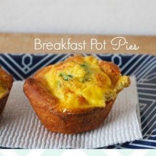 Mini Breakfast Pot Pies