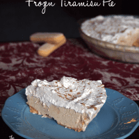 Frozen Tiramisu Pie