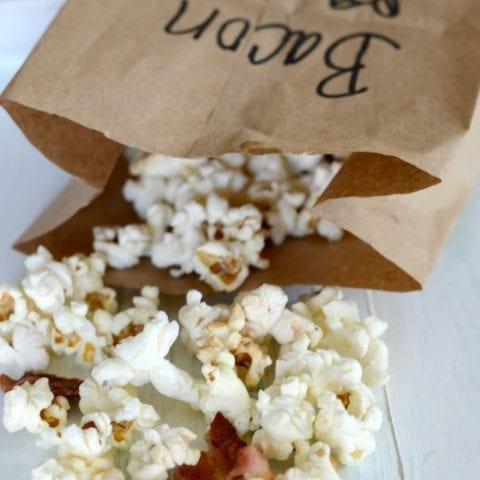 Bacon fat popcorn
