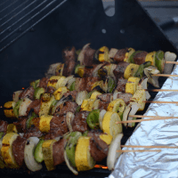 Italian Steak Kebabs