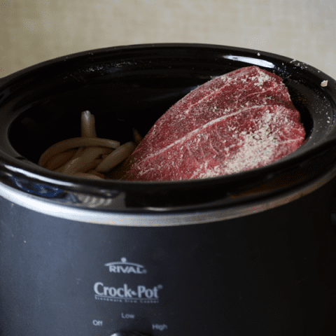 Crock pot roast dinner