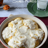 Pumpkin Cheesecake Sweet Rolls
