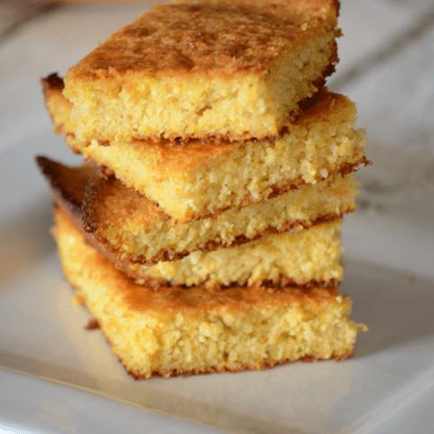 Honey skillet cornbread