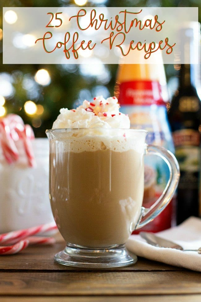 25 Christmas coffee recipes
