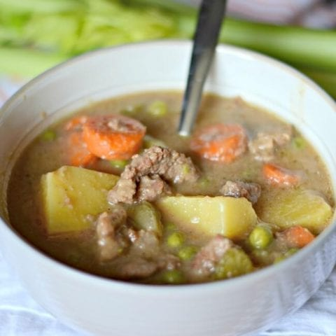 Stove top beef stew