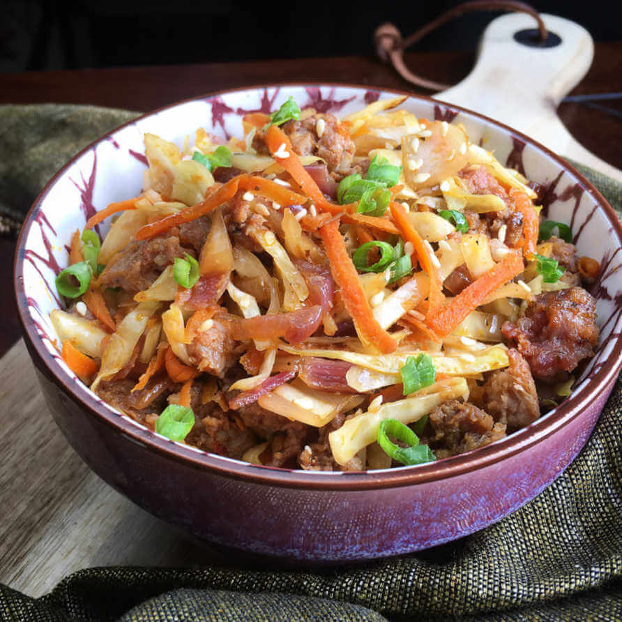 Egg roll in a bowl (1)