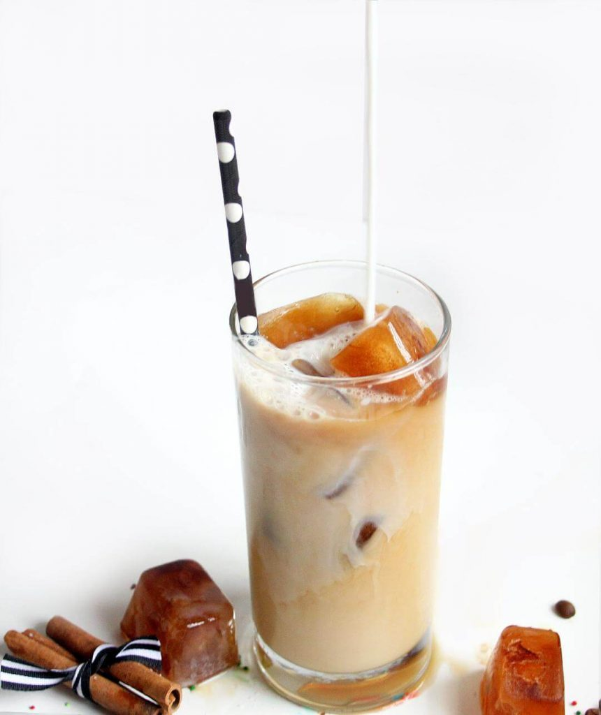 iced vanilla latte recipe