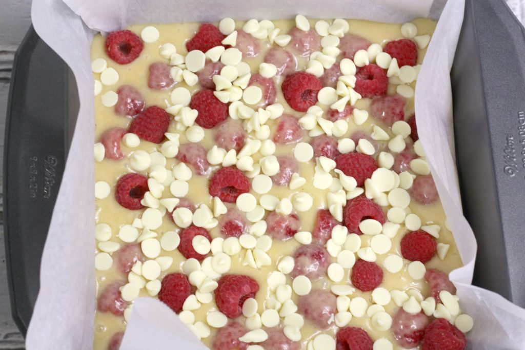 how to make white chocolate blondies