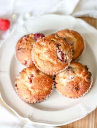 raspberry white chocolate chip muffin recipe