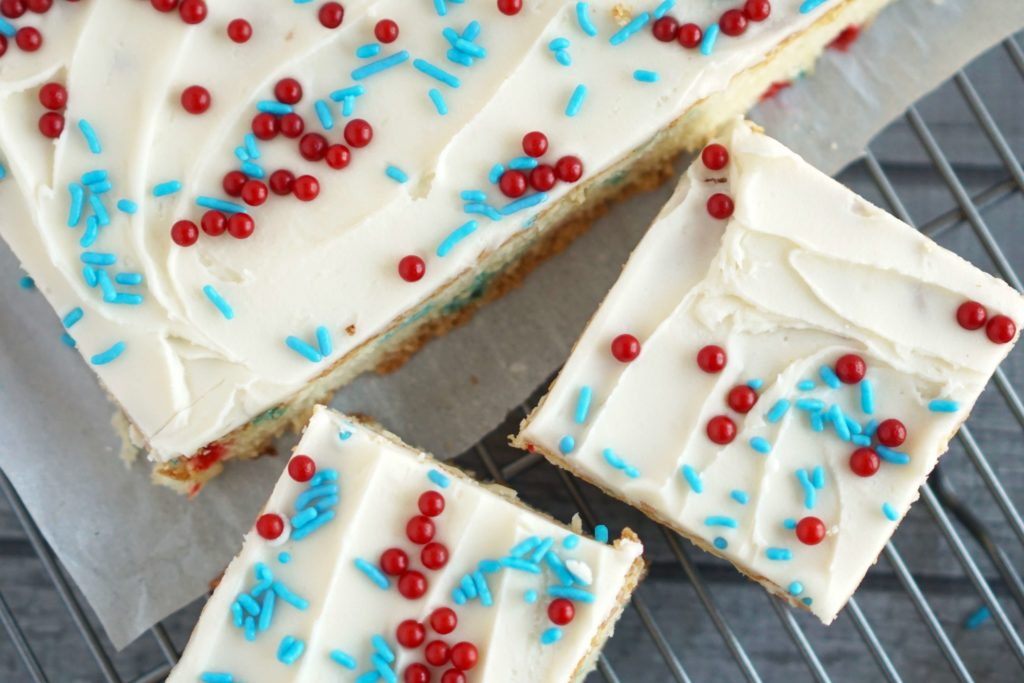 easy sugar cookie bar recipe