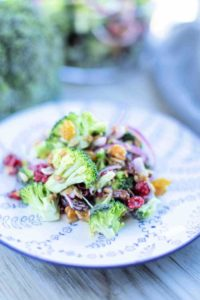 How to make loaded broccoli salad
