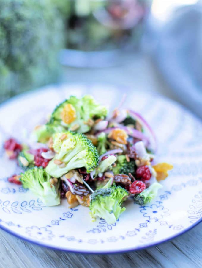 How to make loaded broccoli salad