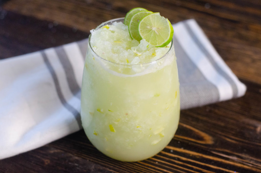 The BEST key lime slush recipe