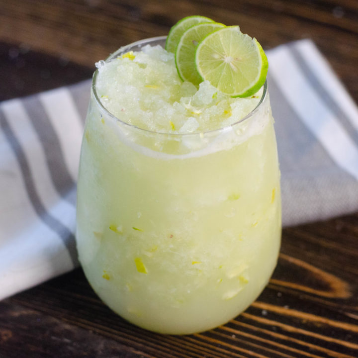 Key lime slush