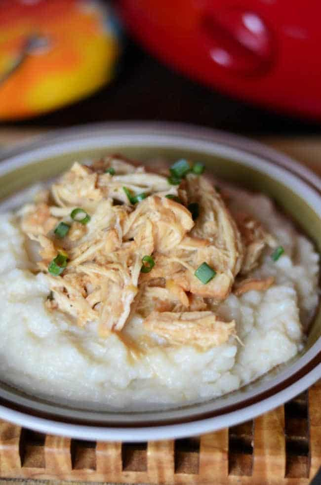 Crock pot Mississippi chicken recipe