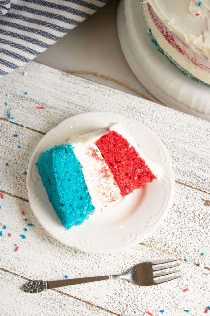 patriotic cheesecake cake
