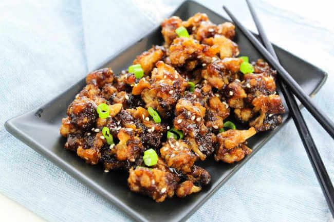 How to make sesame cauliflower