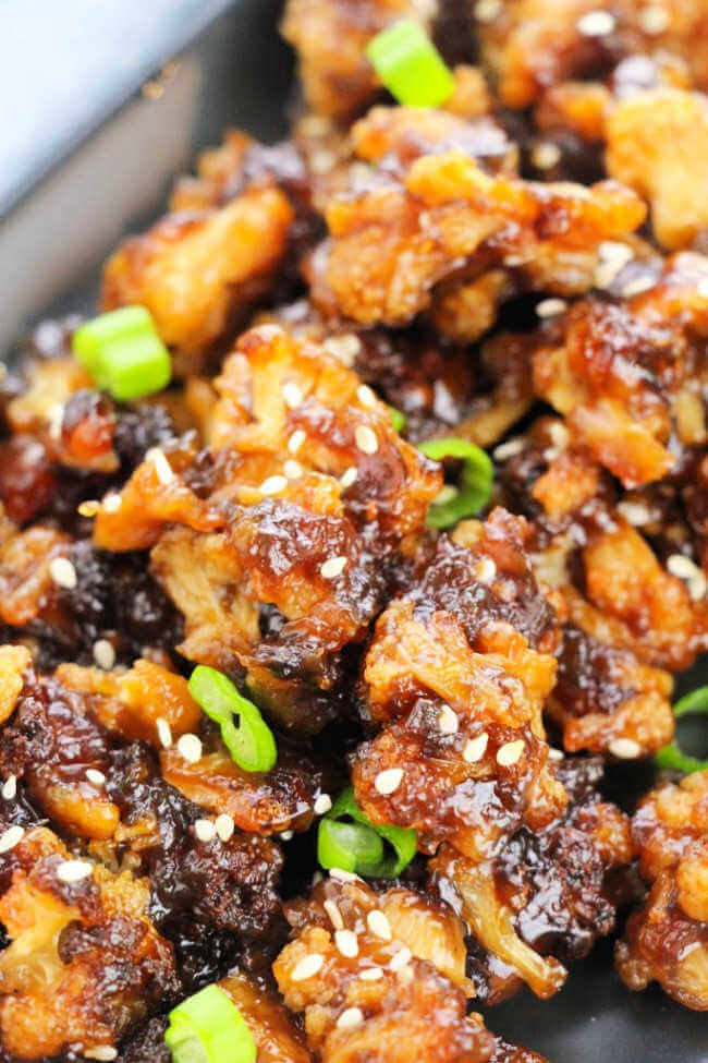 Sesame cauliflower recipe