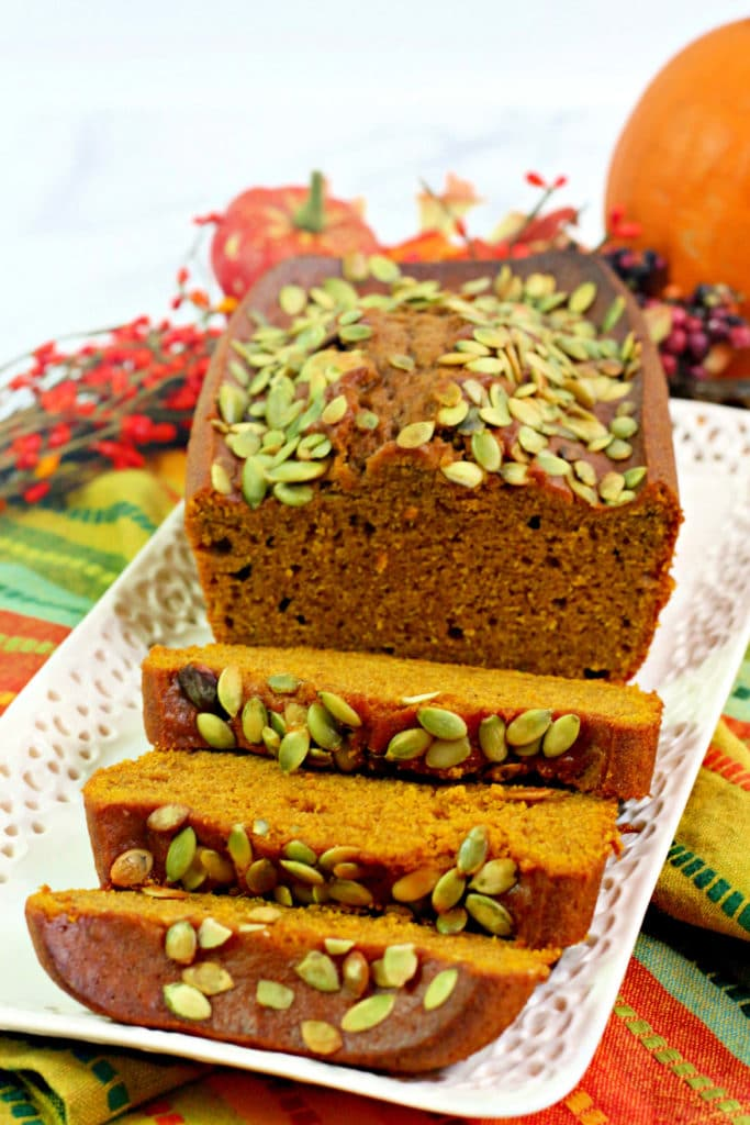easy Starbucks copycat pumpkin bread recipe