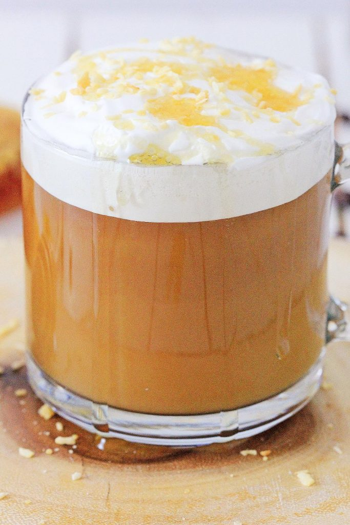 how to make a honey latte at home